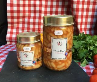 haricots blancs tomate graisse d'oie