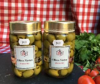 olives vertes denoyautees