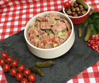 Salade de museau