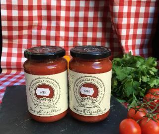 sauce tomate arrabbiata bio